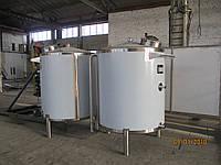 Ємність разгрузочна  для чистої води  2 м3, AISI 304