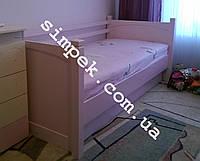 Кровать односпальная подростковая из дерева