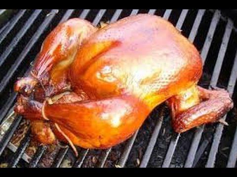 как приготовить копченую курицу