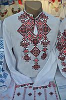 """Чоловіча вишита сорочка """"Дніпровський вальс"""" 46 і 48 розмір!!!"""