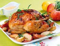 Ароматная копченая курица горячим способом