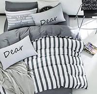 Постельное белье Dear, 100% хлопок, Евро, кровать 2.0м