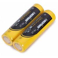2 х TangsPower 18650 литий-ионный аккумулятор Жёлтый