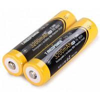 2шт TangsPower 18650 литий-ионный аккумулятор Жёлтый