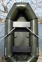 """Рекомендуемая надувная лодка ПВХ """"Язь-2"""" Лисичанка 2 местная. Отличное качество. Доступная цена. Код: КГ3086"""