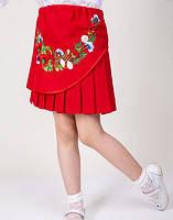 Детские вышитые юбки