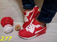 Кросссовки аирмаксы красные 39, 40 размер, фото 1
