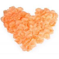 Искусственные лепестки свадьба цветок-1000шт Оранжево-розовый