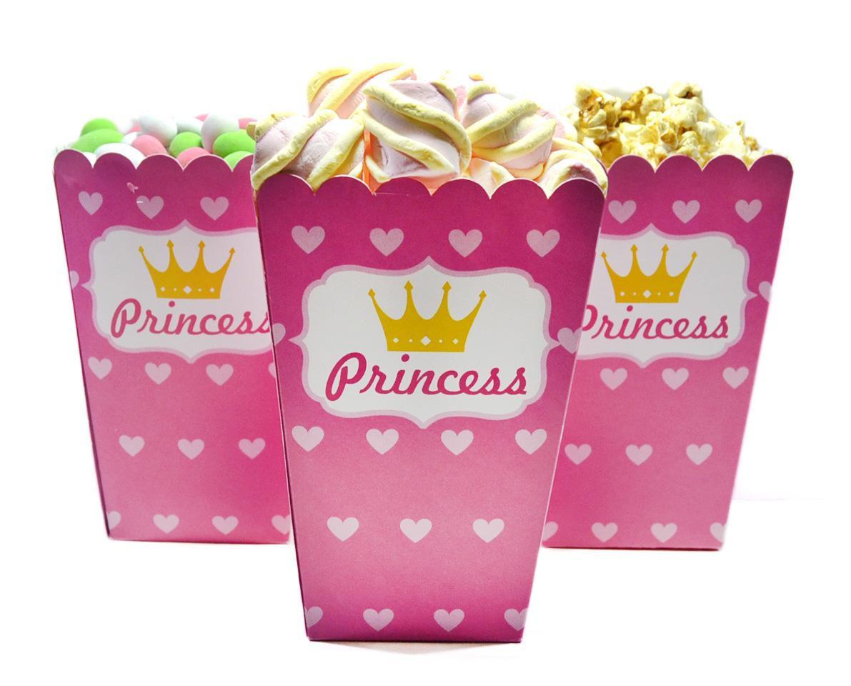 Коробочка для попкорна Принцесса