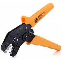 LODESTAR L214225 Кримпер сталь и резина клеммные колодки 0.08-0.5мм Оранжевый