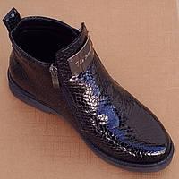 Ботинки N-7105 lonza (лак-черный) 37