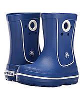 Оригинал сапоги дождевые Крокс Crocs Crocband Jaunt Rain Boot, резиновые, крослайт