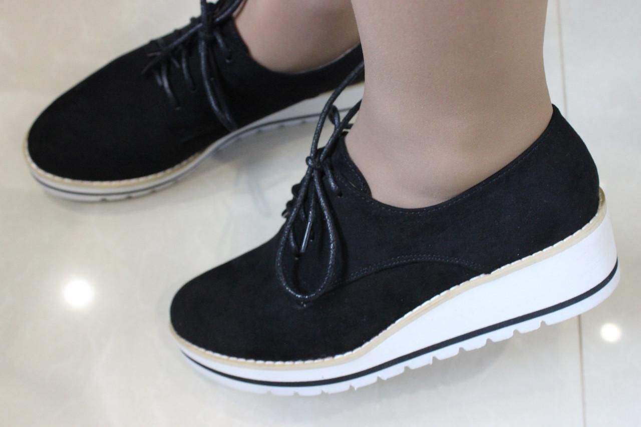 Женские  туфли на шнурках размер 36