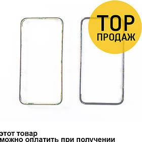 Дисплейная рамка Iphone 4, белый, ААА (со скотчем)