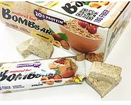 BomBBar протеиновый батончик Овсяный с вишней и фундуком , фото 2