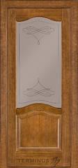 Межкомнатные двери Модель 03 ПГ/ПО Дуб темный