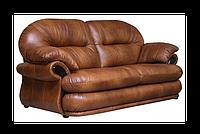Трехместный раскладной кожаный диван Орландо (226 см) (4 цвета в наличии)