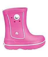 Оригинал Сапоги дождевые Крокс Crocs Crocband Jaunt Rain Boot