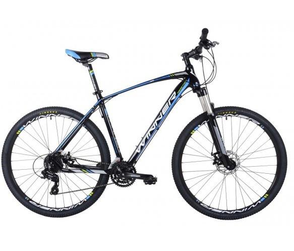 """Горный велосипед WINNER GLADIATOR 29"""" 20""""   Черный/Синий"""