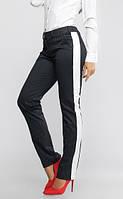 Брюки классические женские 913, (2цв) брюки с лампасами женские
