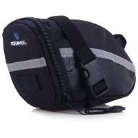 ROSWHEEL 13196 сумка на велосипедное седло для велоспорта Чёрный