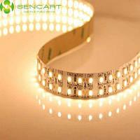 Sencart 3600lm в 5м 1200 светодиодов SMD 3528 двойной ряд гибкая светодиодная лента свет Тёпло-белый