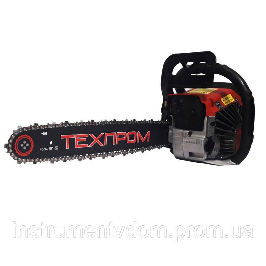 Бензопила Техпром 6700 в металле, праймер (1 шина/1 цепь)
