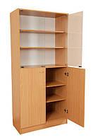Шкаф комбинированный со стеклянными дверями С-027