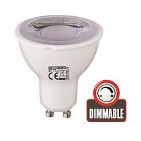 Led лампа 6W 390Lm 3000K GU10 dimmer, фото 1