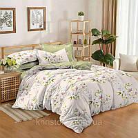 Полуторный комплект постельного белья 150*220 сатин (8982) TM KRISPOL Україна