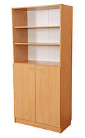 Шкаф комбинированный с открытым верхом С-028 (850х432х1864 мм)