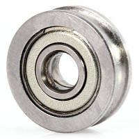 U604ZZ U-образный ПАЗ руководство Подшипник ролика колеса никель