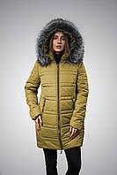 Женская зимняя теплая куртка