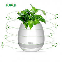 Музыкальный вазон TOKQI K3 White