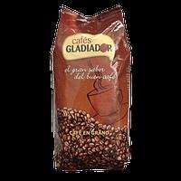 Кофе в зернах GLADIADOR  1кг 50/50