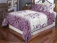 Комплект постельного белья полуторный Бязь Голд Люкс 100% хлопок