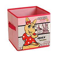 Короб для игрушек Staygold 31х31х31см Розовый (ORG-318 pink)