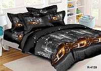 Полуторный комплект постельного белья 150х220 из ранфорса Ауди R8 (70х70)