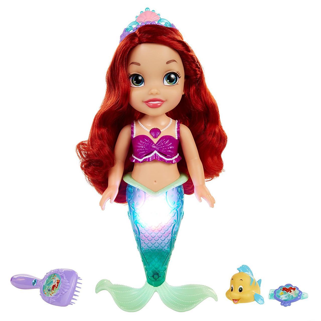 Кукла Дисней Русалка поющая Ариэль Disney Princess Colors of The Sea Ariel with Bonus Hair Playpiece Doll