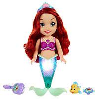 Кукла Дисней Русалка поющая Ариэль Disney Princess Colors of The Sea Ariel with Bonus Hair Playpiece Doll, фото 1
