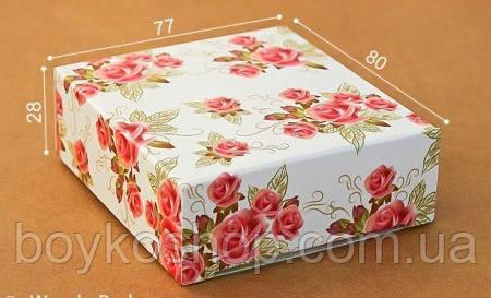 """Коробка """"Розы"""" 77*80*28"""