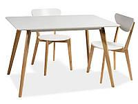 Стол Milan 120х80 см, Signal, фото 1