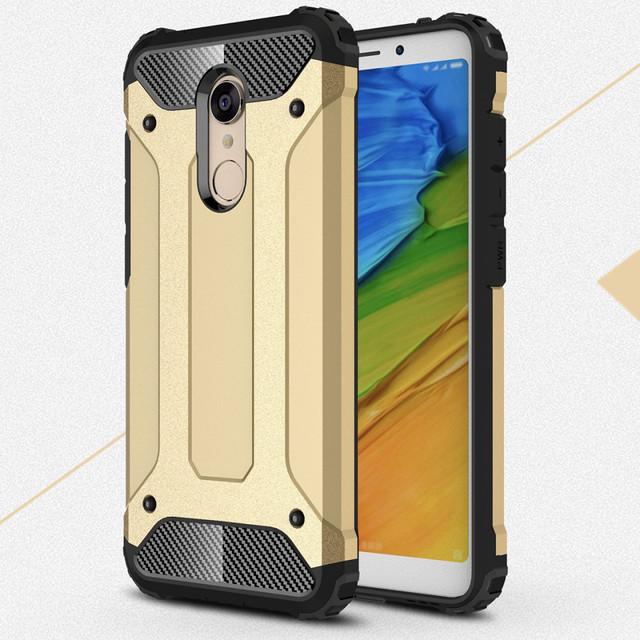 чохол Xiaomi Redmi 5 plus накладка протиударний золотистий