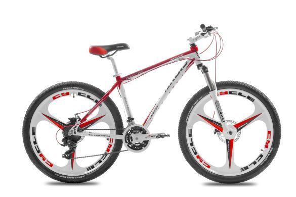 """Горный велосипед ARDIS SPACE - 2  26"""" 19""""  Белый/Красный"""