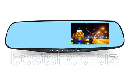 Зеркало-видеорегистратор DVR 138W (1 камера), фото 2