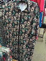 Женские велюровый халат в расцветках