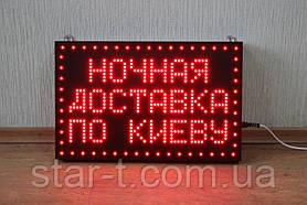 Светодиодная надпись