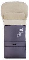 Зимний конверт Qvatro №20 с удлинением, с узором графит с узором