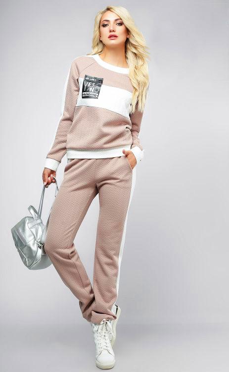 25f5303f0c74 Спортивный костюм женский 712, (6цв), прогулочный спортивный костюм, женская  спортивная одежда