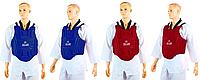 Защита корпуса (жилет) для единоборств ZELART Синий, L